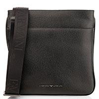 Сумка-планшет Emporio Armani в черном цвете, фото