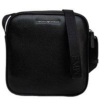 Мужская сумка Emporio Armani черная, фото