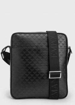 Мужская сумка Emporio Armani с принтом из логотипа, фото