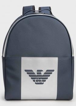Синий рюкзак Emporio Armani с орлом, фото