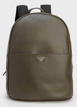 Мужской рюкзак Emporio Armani цвета хаки, фото