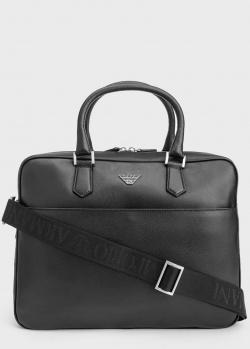 Черная сумка для ноутбука Emporio Armani , фото