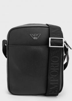 Мужская сумка Emporio Armani в черном цвете, фото