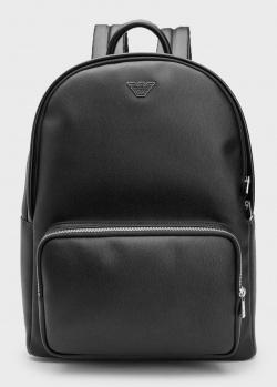 Черный рюкзак Emporio Armani из экокожи, фото
