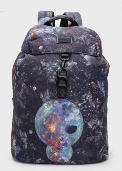 Рюкзак Emporio Armani с космическим принтом, фото