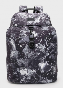 Рюкзак Emporio Armani с сюрреалистическим принтом, фото