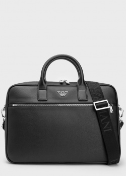 Мужской портфель Emporio Armani с отделением для ноутбука, фото