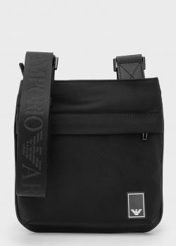 Мужская сумка Emporio Armani Travel Essentials черного цвета, фото