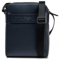 Синяя сумка Emporio Armani с ремнем, фото