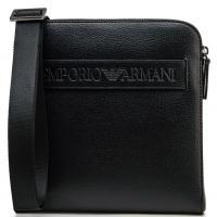 Мужская сумка Emporio Armani черного цвета, фото