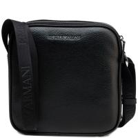 Мужская сумка Emporio Armani из кожи черного цвета, фото
