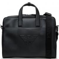 Сумка для ноутбука Emporio Armani черного цвета, фото