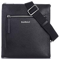 Маленькая черная сумка Baldinini Brian из зернистой кожи, фото