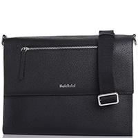 Кожаная сумка Baldinini Brian черного цвета, фото