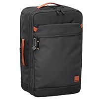 Серый рюкзак-чемодан Hedgren Escapade прямоугольной формы, фото