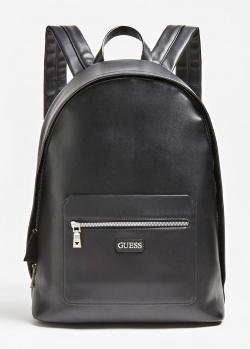 Черный рюкзак Guess Dan Pu из экокожи, фото