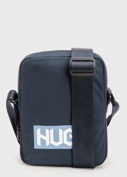 Текстильная сумка Hugo Boss Hugo с фирменным принтом, фото