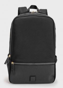 Текстильный рюкзак Hugo Boss черного цвета, фото