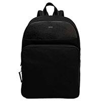 Рюкзак Hugo Boss из кожи черного цвета, фото