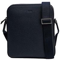 Мужская сумка-планшет Hugo Boss из кожи, фото
