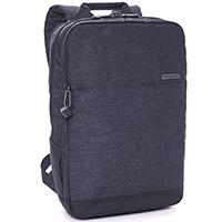 Темно-серый рюкзак Hedgren Walker с тремя отделениями, фото