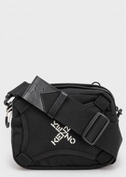 Текстильная сумка Kenzo черного цвета, фото