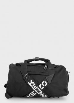 Спортивный сумка-рюкзак Kenzo черного цвета, фото