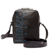 Мужская сумка Kenzo с нашивкой-логотипом, фото