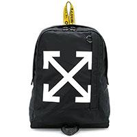 Черный рюкзак Off-White с желтыми вставками, фото