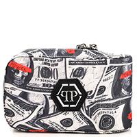 Поясная сумка Philipp Plein с принтом-доллары, фото