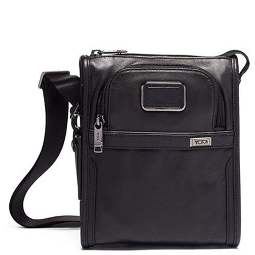 Сумка плечевая Tumi Alpha 3 Pocket Bag черная, фото
