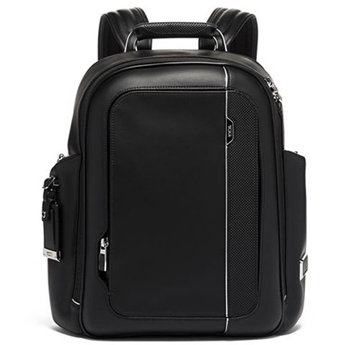 Кожаный рюкзак Tumi Arrive Larson черного цвета, фото