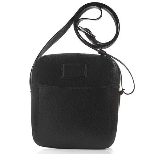 Мужская сумка через плечо S.T.Dupont Contraste с тиснением Сафьяно, фото