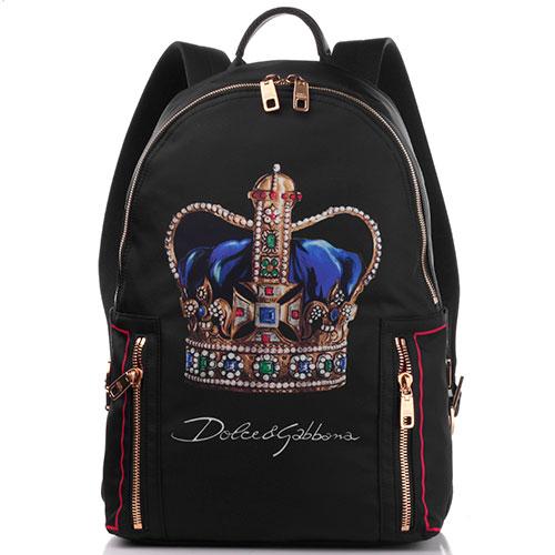 Рюкзак Dolce&Gabbana с изображением короны, фото