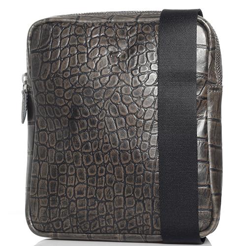 Мужская сумка Braun Bueffel Lisboa серого цвета, фото