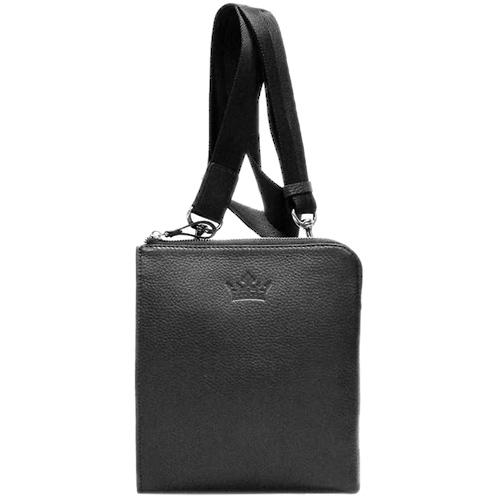 Мужская сумка Amo Accessori Mario черного цвета, фото