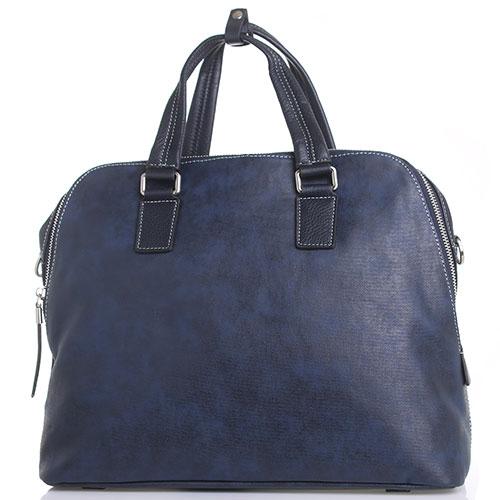 f98af323cec2 ☆ Синяя сумка Amo Accessori Verona из текстиля с обработкой купить ...