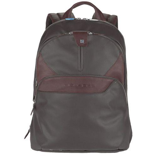 Рюкзак Piquadro Coleos складной с отделением для iPad коричневый, фото