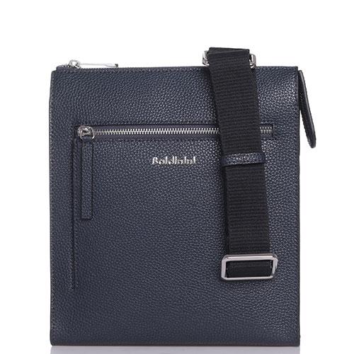 Темно-синяя сумка Baldinini Brian из зернистой кожи, фото