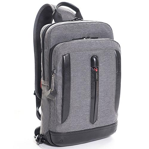 Серый рюкзак Hedgren Excellence с одной шлейкой, фото