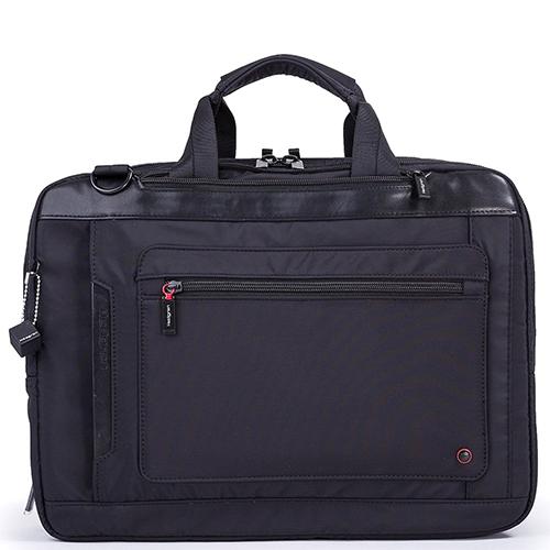 Черная сумка-рюкзак Hedgren Zeppelin Revised с функцией расширения, фото
