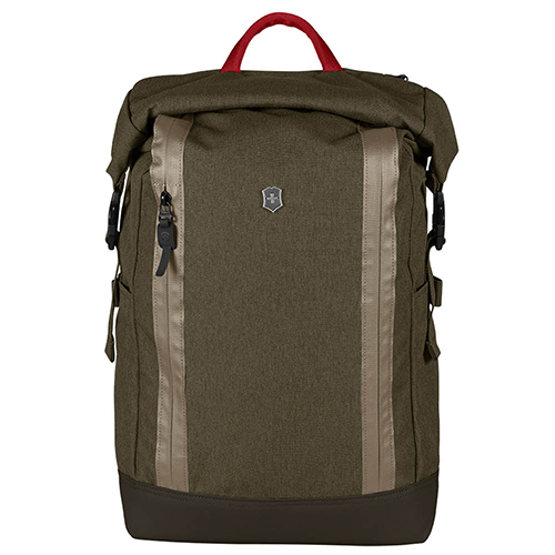 Рюкзак зеленого цвета Victorinox Altmont Classic Rolltop Laptop, фото