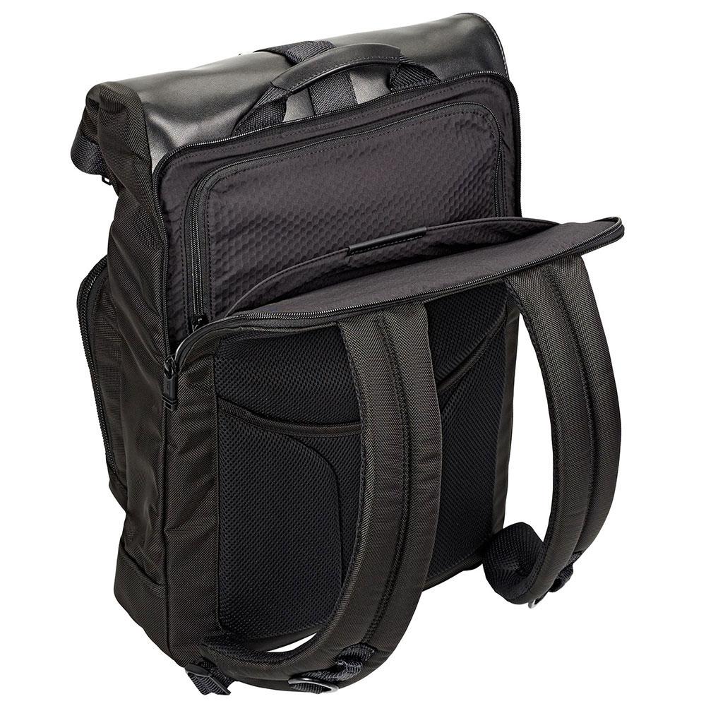 Черный рюкзак Tumi Alpha Bravo Londonl с отделением для ноутбука