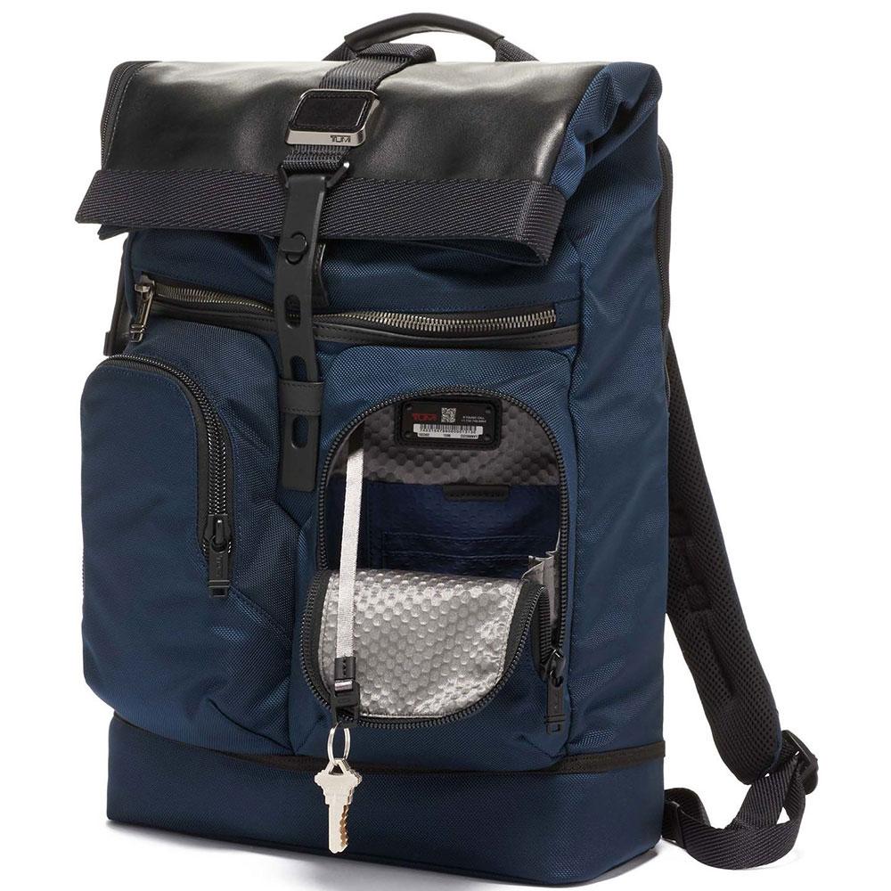 Рюкзак Tumi Alpha Bravo Londonl синего цвета