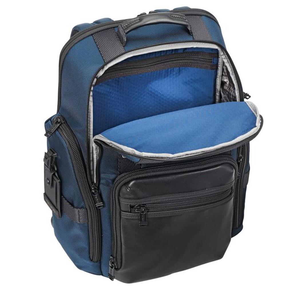 Синий рюкзак Tumi Alpha Bravo Sheppard