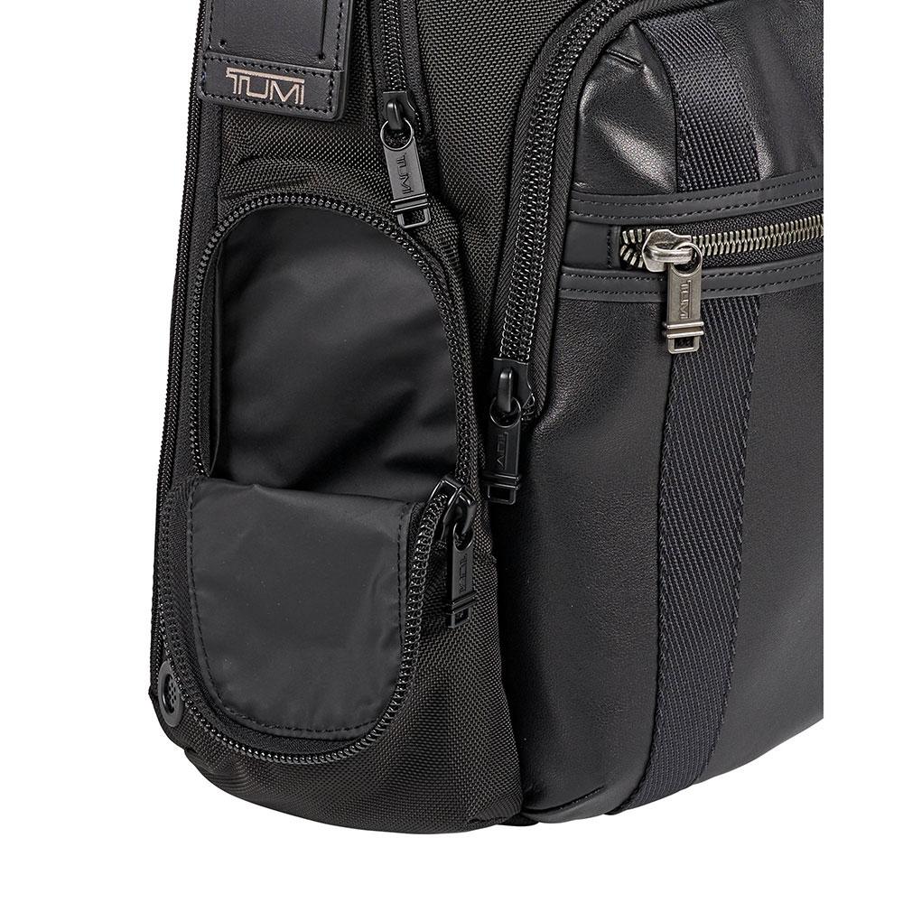 Рюкзак Tumi Alpha Bravo Nellis с кожаной отделкой