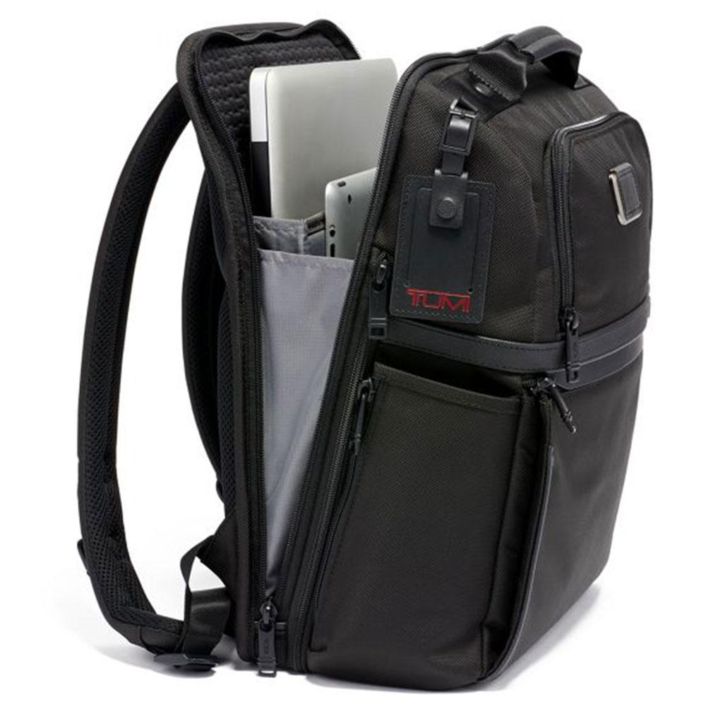 Рюкзак Tumi Alpha 3 Slim черного цвета