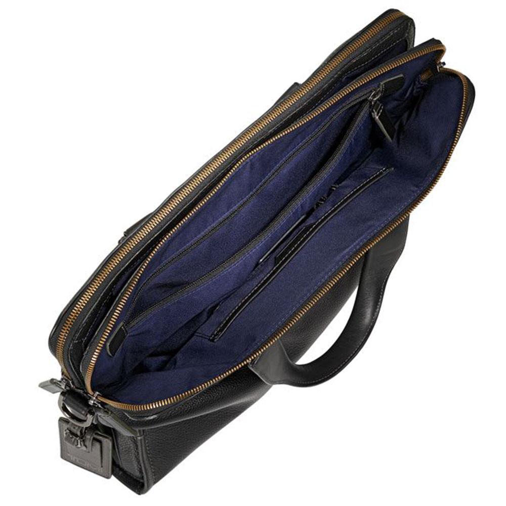 Сумка-портфель Tumi Harrison Seneca из мягкой кожи