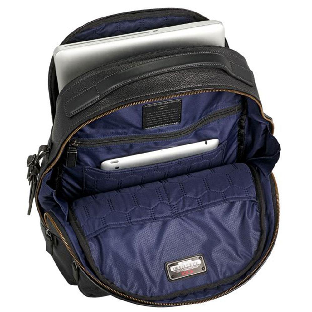 Мужской рюкзак Tumi Harrison Webster черного цвета