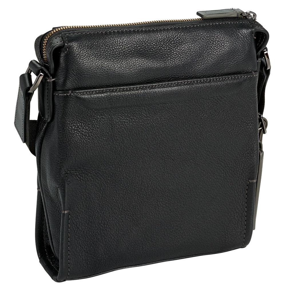 Прямоугольная сумка Tumi Harrison Scott Crossbody в черном цвете
